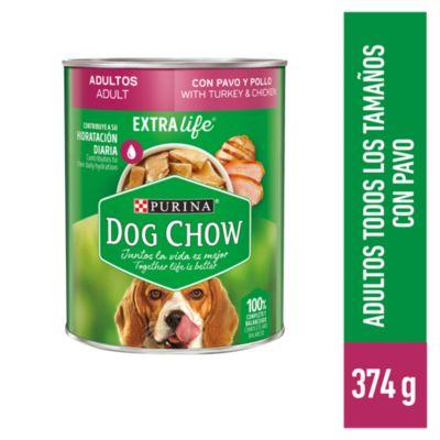 Dog Chow Adultos Trozos Jugosos 374gr