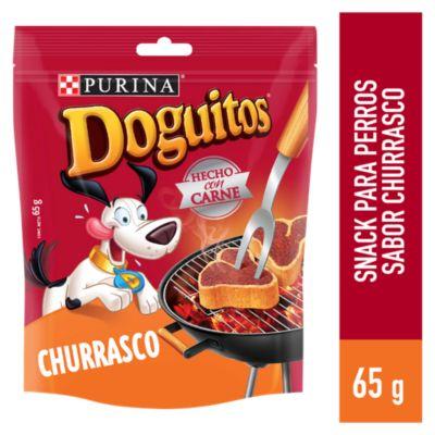 Doguitos Adultos Snacks Churrasco 65gr