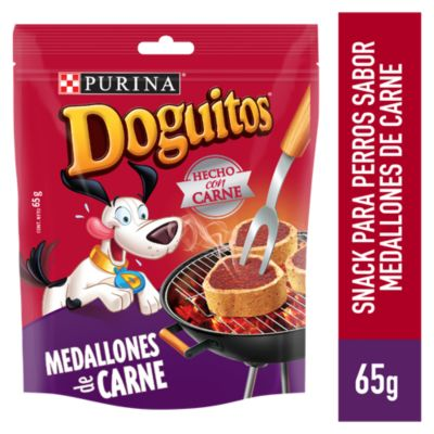 Doguitos Adultos Snacks Medallones de Carne 65gr
