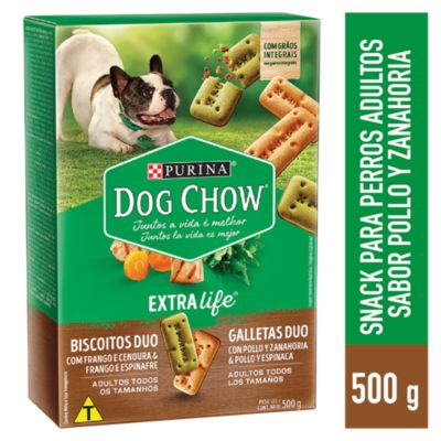 Dog Chow Cachorros y Adultos Snacks Integral Duo 500gr