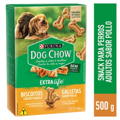 Dog Chow Cachorros y Adultos Snacks Integral Mini 500gr