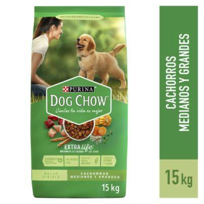 Dog Chow Cachorros Croquetas 15kg