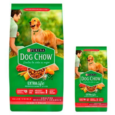 Dog Chow Adultos Croquetas 15kg + Dog Chow Adultos Croquetas 3kg