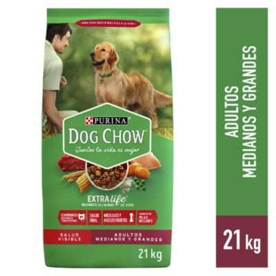 Dog Chow Adultos Croquetas 21kg
