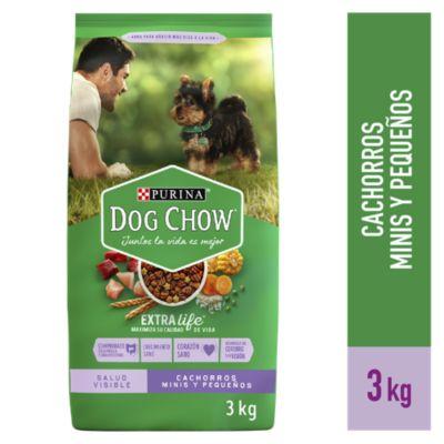 Purina Dog Chow Cachorros Minis y Pequeños 3kg