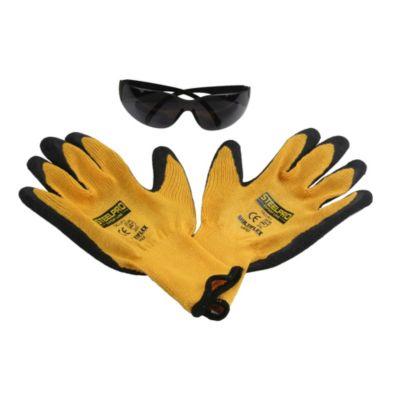 Kit guantes + Lentes de seguridad