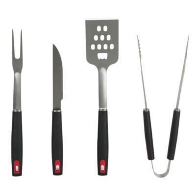 Set 4 utensilios para parrilla