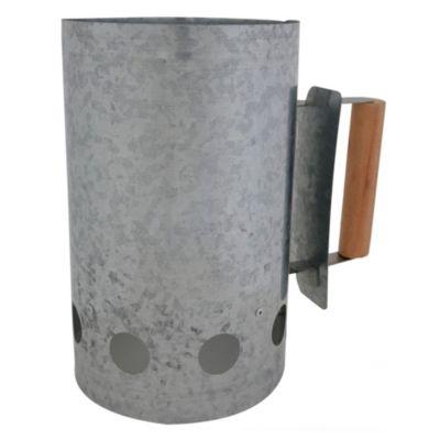 Encendedor para carbón aluminio