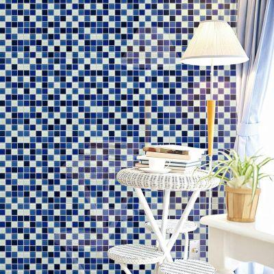 Malla Vidrio 30x30cm Azul Cielo