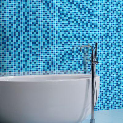 Malla Piscina 30.5x30.5cm Azul 4mm