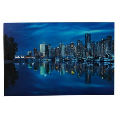 Cuadro decorativo Cities 40 x 60 cm