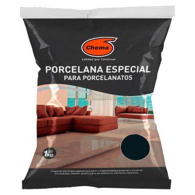 Fragua para porcelanatos negro 1Kg