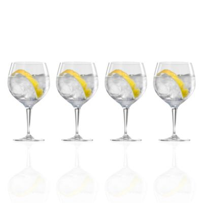 Copas de cristal Gin/Tonic 630ML Set x4