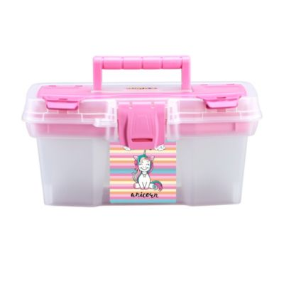 "Caja 11"" con Bandeja Rosa"