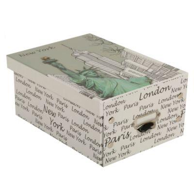 Caja papel New York 28.5x21x12.5cm