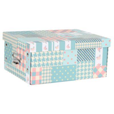 Caja papel Vintage 28.5x21x12.5cm