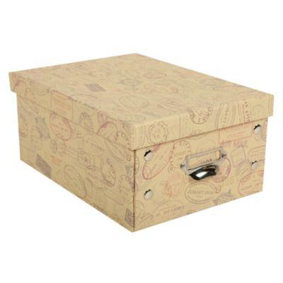 Caja papel Viajes 28.5x21x12.5cm