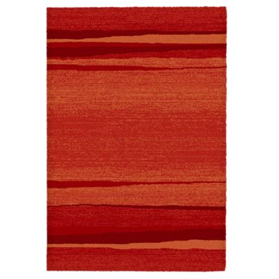 Alfombra Ocean rojo 60x115cm