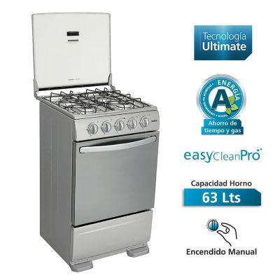 Cocina a gas 4 quemadores TX5110P0