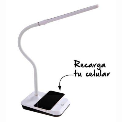 Lámpara de escritorio George blanca