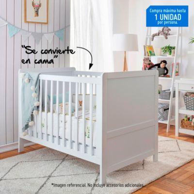 Cuna Recta Convertible Blanco