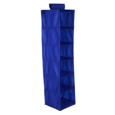 Porta ropa 6 casillas Notex azul