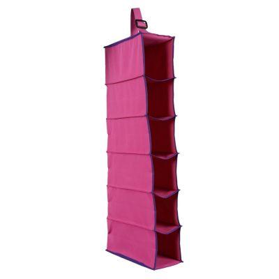 Porta zapatos 6 pares rosado