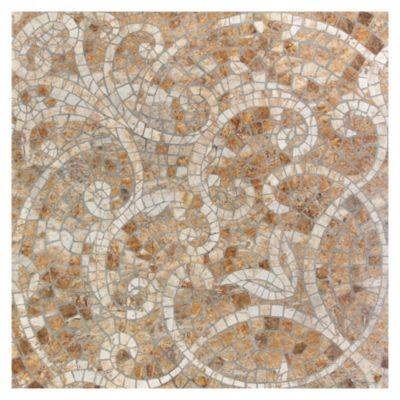 Gres Porcelanico Cadaqués Marron Geométrico 59x59cm para piso