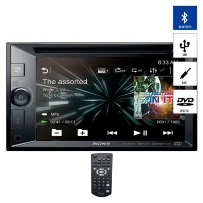"Autoradio Pantalla Tactil 6.2"" Blueetooth/CD/DVD/USB/AUX XAV-W651BT"