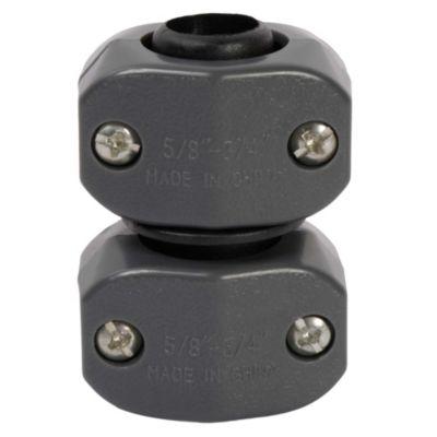 Conector doble para manguera