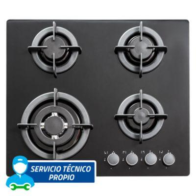 Cocina empotrable 4 quemadores EGI604VDNE
