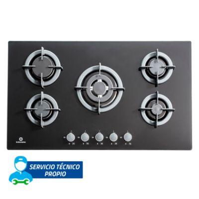 Cocina empotrable 5 quemadores EGI905VDNE