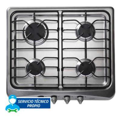 Cocina empotrable 4 quemadores 60A