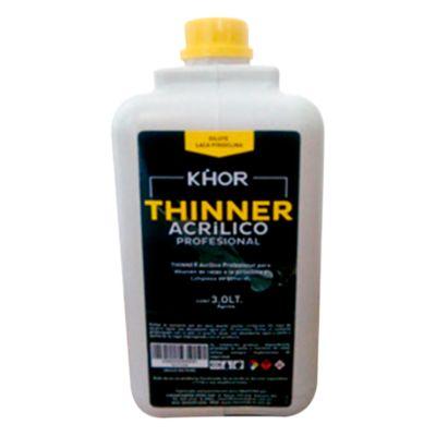 Thiner Acrílico 3L
