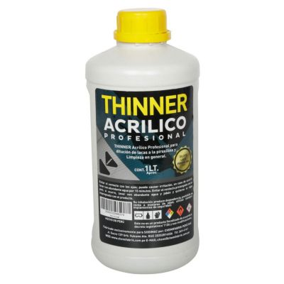 Thiner acrílico profesional 1L