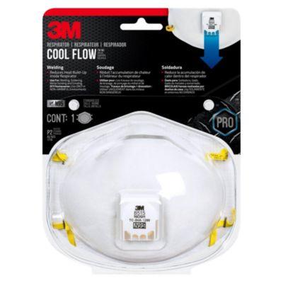 Respirador valvulado para soldaduras x 1