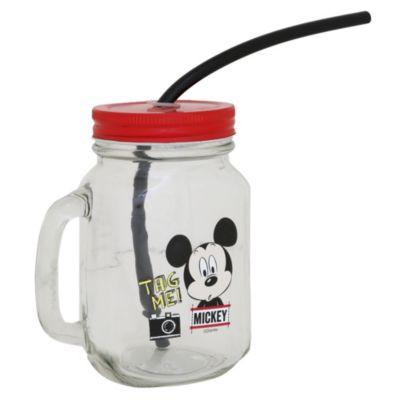 Jarro de vidrio Mickey