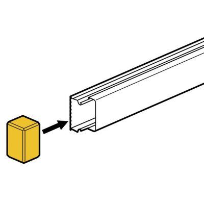 Tapa Final para Mini Canaletas DLP S 15x10mm