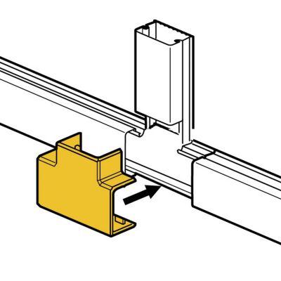 Derivación T para Mini Canaletas DLP S 60x20mm