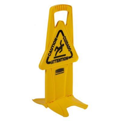 Señal de piso mojado estable