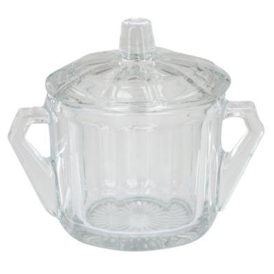 Azucarero de vidrio