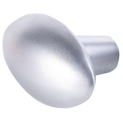Perilla Ovalado Zamak Cromo Mate GP10 28 mm