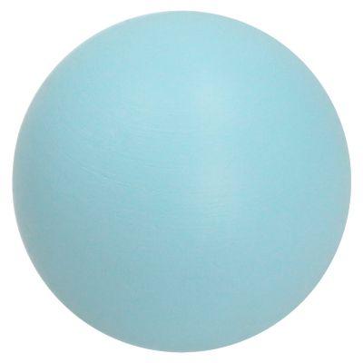 Tirador Perilla Bola 40mm Madera Azul Celeste