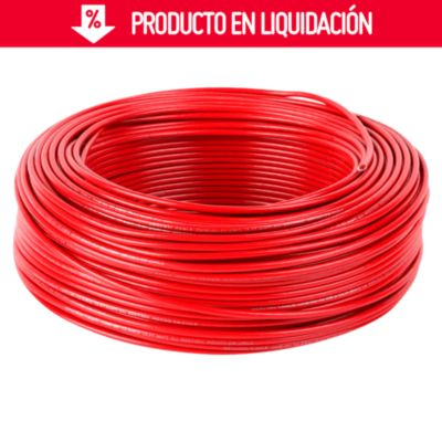 Cable THW 12 AWG Rojo x 100 m