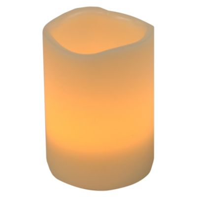 Vela led cilindro 10cm