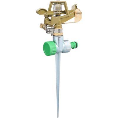 Aspersor de bronce y metal con espiga