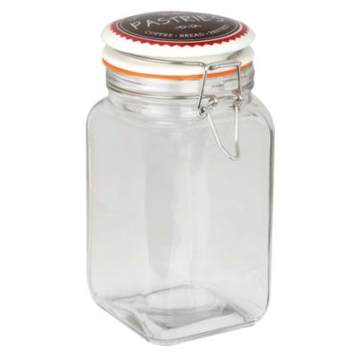 Frasco de vidrio con tapa Sugar 1.2 L