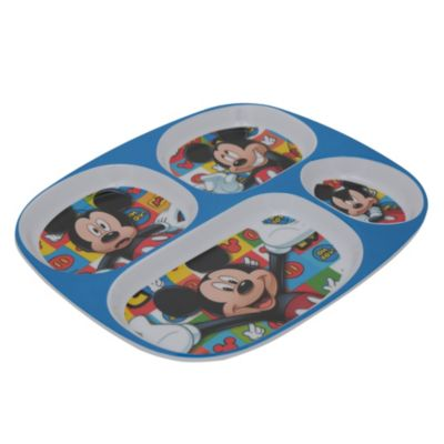 Plato rectangular Mickey