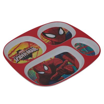 Plato rectangular Spiderman