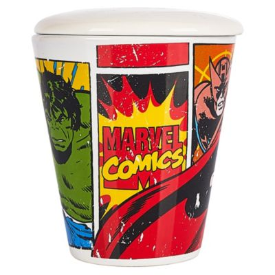 Taza con Tapa Marvel Comics